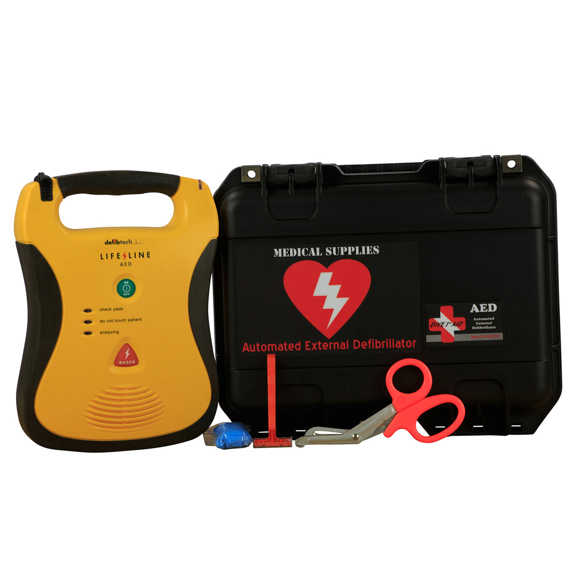 Defibtech Lifeline AED (Complete Kit)