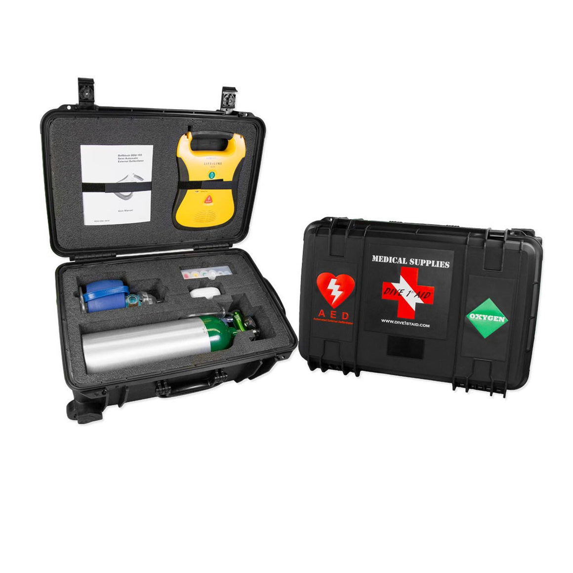 AED and Oxygen Medical Kit