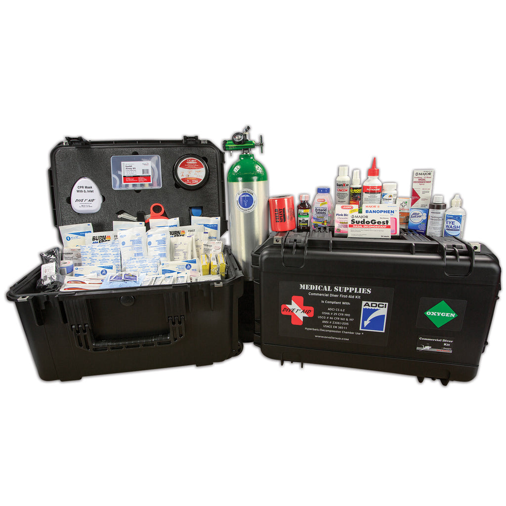 Commercial Diver Kit with O2