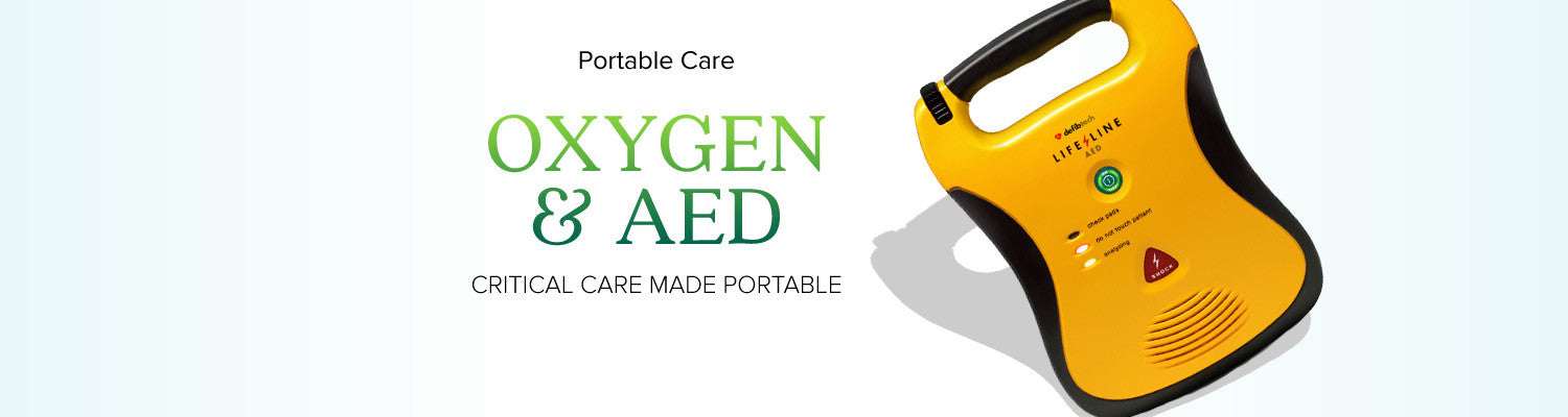 Oxygen and AED Kits