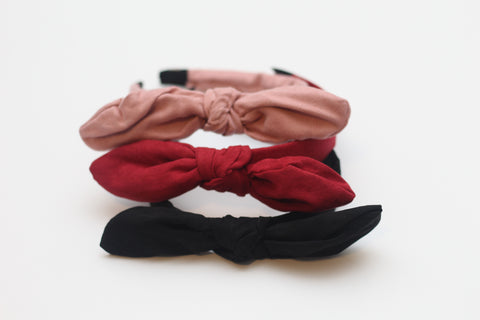 Bow Hard Headbands
