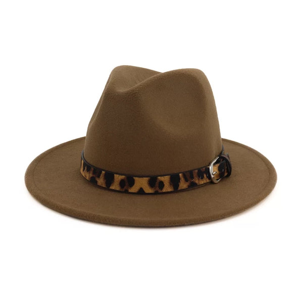Cheetah Belt Fedora