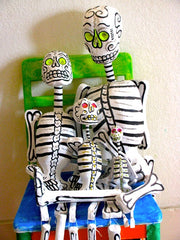 Day of the Dead Skeletons, Esqueletos