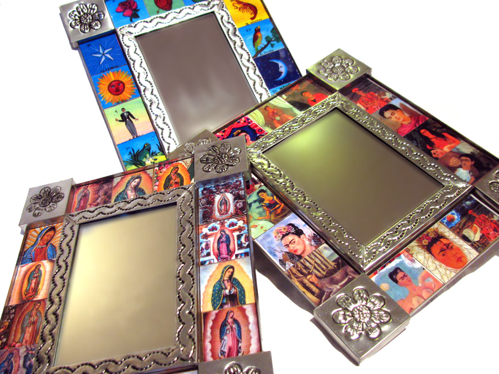 Mexican Tin Mirror