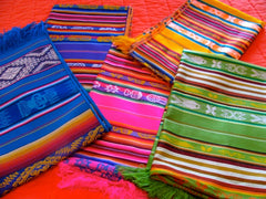 Tablecloths from Ecuador