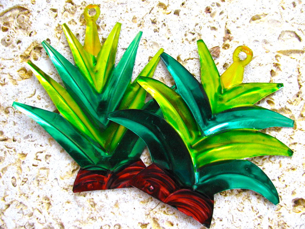 Agave Tin Ornaments