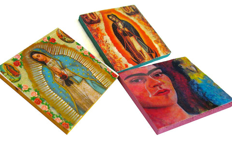 Mexican Wood Magnets