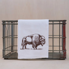Load image into Gallery viewer, Bison Tea Towel