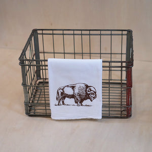 Bison Tea Towel
