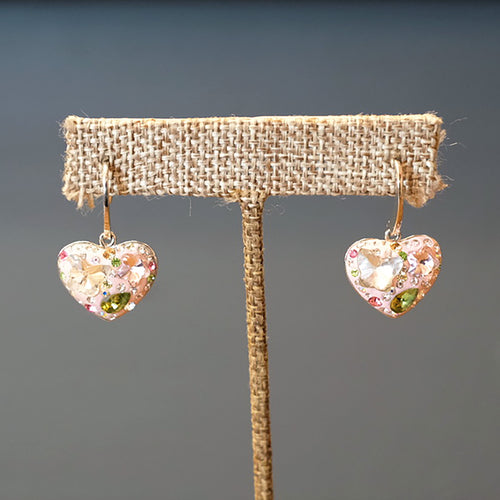 Butterfly Heart Earrings