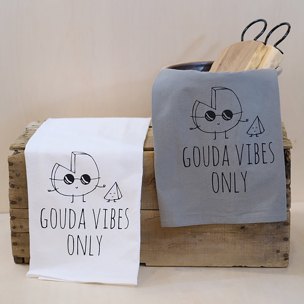Gouda Vibes Tea Towel