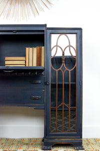 Side by Side Bookcase + Secretary