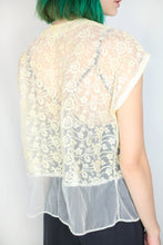 Load image into Gallery viewer, VINTAGE LACE SHRUG