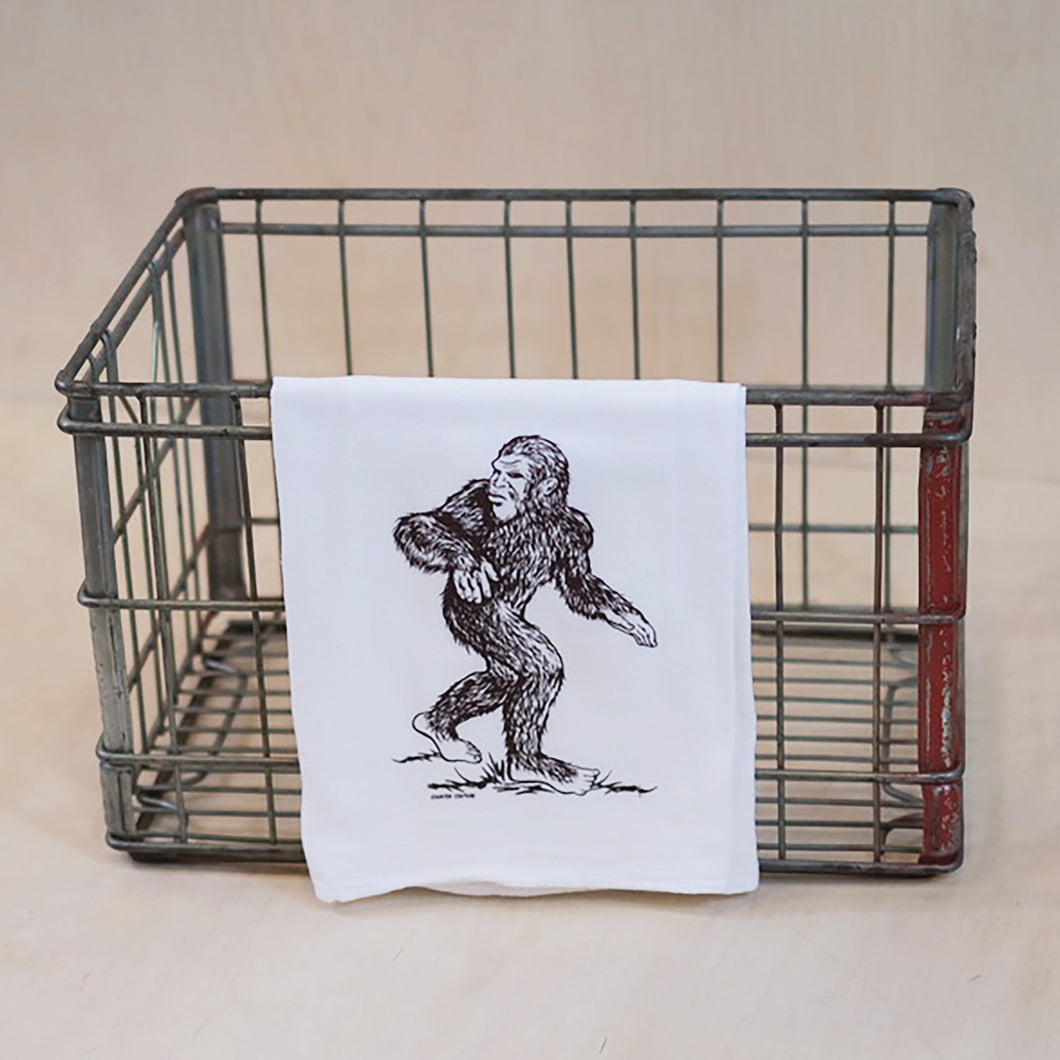 Sasquatch Tea Towel