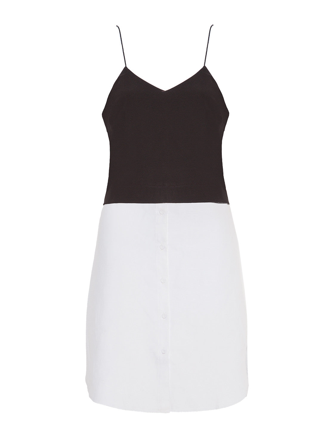 Button Me Up Baby Black and White Dress | Shop Dresses At Pale Violet