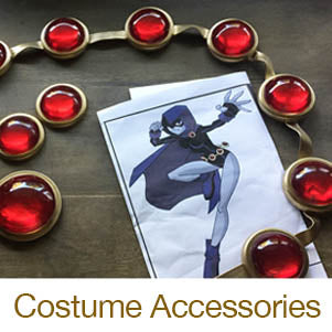 resin crafting cosplay accessories raven belt cabochon
