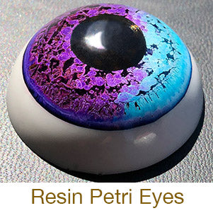 resin crafting cast petri eye alcohol ink costume
