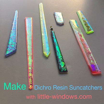 resin jewelry doming dichro film suncatchers bookmarks reflective