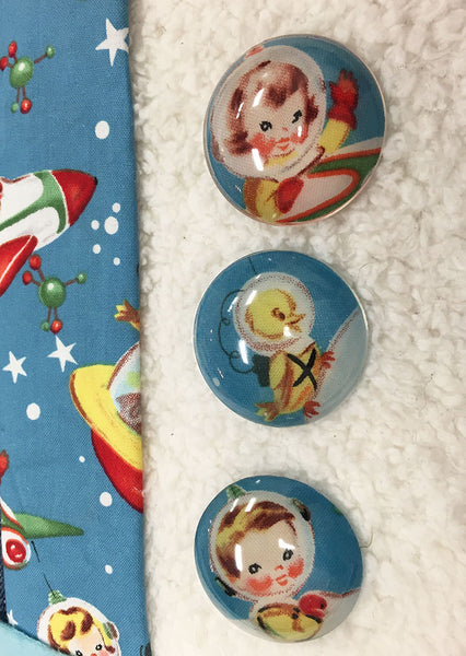 Resin crafting cabochons fabric buttons