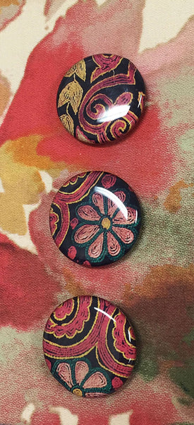 resin fabric buttons photo
