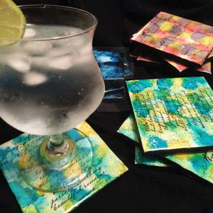 Ways To Color Resin By Little Windows Little Windows Brilliant - Coloring resin with alcohol ink