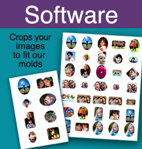 photo cropping software fits Little Windows Brilliant Molds
