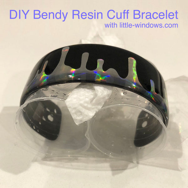 resin jewelry making bracelet cuff stickers
