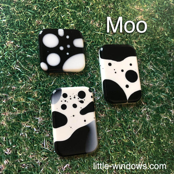 resin casting silicone mold black and white cow spots
