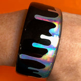 resin jewelry making cuff bracelet stickers holographic