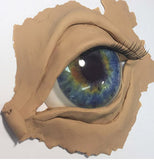 brilliant resin polymer clay casting eye jewelry making