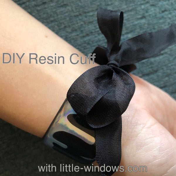 resin jewelry making cuff bracelet stickers