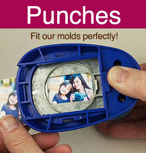 punches fit resin molds