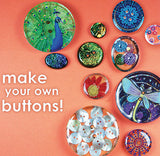 resin buttons sewing cast dome fabrics