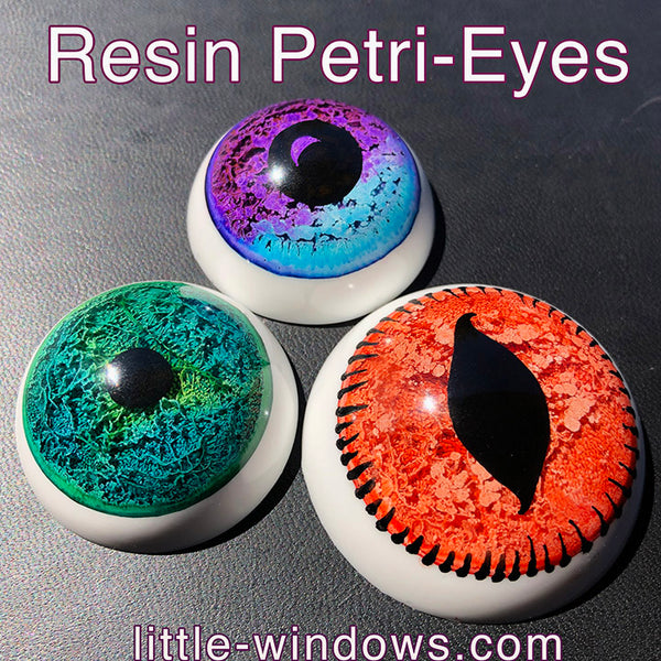 resin casting silicone cabochons mold resin petri eyes