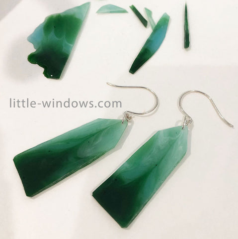 resin jewelry making dirty pour stone effects jade alcohol ink earrings