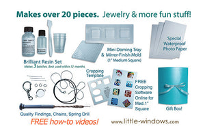 Brilliant Resin Starter Kit - for Jewelry and More!