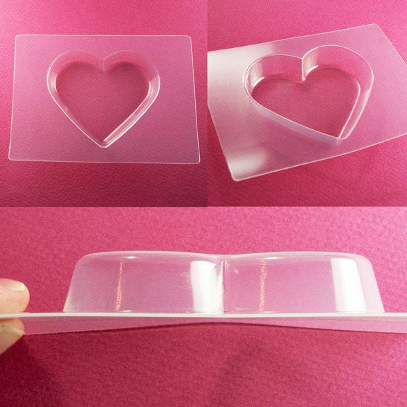 Hearts Mold Set with Cropping Template