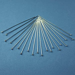 Sterling Silver Accent Pins - 20