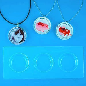 Medium Circles Resin Mold
