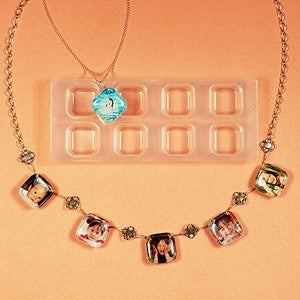 Small Squares Resin Mold
