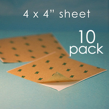 Double-Sided Adhesive - 10 sheets
