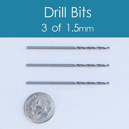 Replacement Drill Bits - 1.5mm  (3)