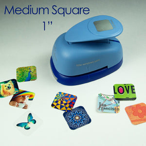 "Medium Square (1"") Punch"