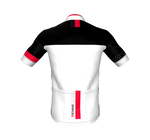 Polka Short Sleeve Jersey - White/Red