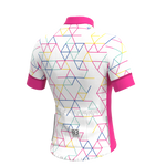 Poggio short sleeve jersey - White Drop Fit