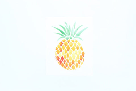 Pineapple - Watercolor