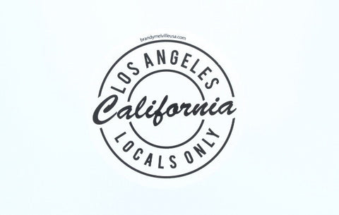 Brandy Melville Locals Only - LA white