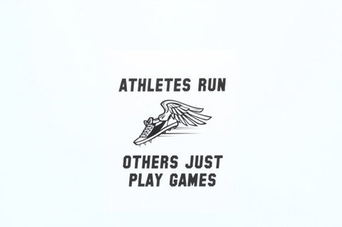 Athletes Run
