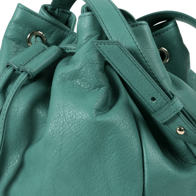 Peacock Bucket Bag