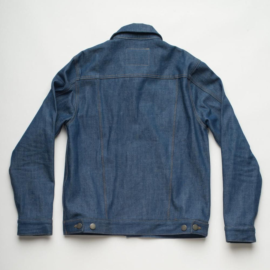 Classic Denim Jacket  Royal Cast